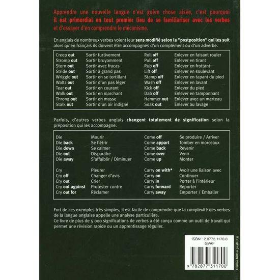 Guide Des Verbes Anglais Achat Vente Livre Top Parution 12 09 2000 Pas Cher Soldes Sur Cdiscount Des Le 20 Janvier Cdiscount