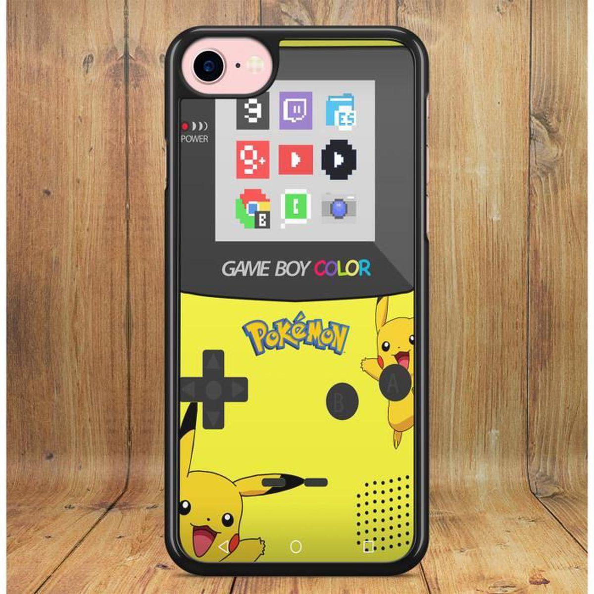 Coque Samsung Galaxy S9 PLUS GameBoy Color Pokemon Pikachu Go Vintage Console Jeux Vidéo Neuf sous Blister