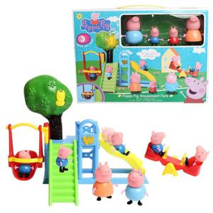 peppa pig terrain de jeux achat vente jeux et jouets pas chers. Black Bedroom Furniture Sets. Home Design Ideas