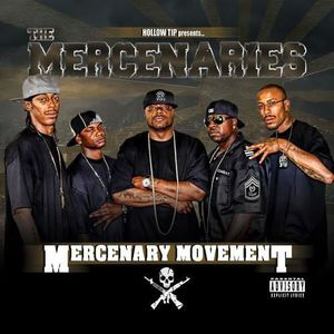 CD RAP - HIP HOP Mercenaries - Mercenary Movement