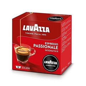 CAFÉ Lavazza A Modo Mio Espresso Passionale Capsules -
