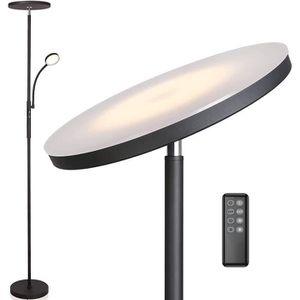 Contr/ôle Tactile//T/él/écommande,parfait comme /éclairage dambiance pour le salon//bureau Svater Lampadaire 30W LED Lampe -Infinite Dimmable Lampe Sur Pied avec 3 Temp/ératures de Couleur 3000K~5000K