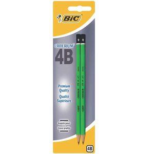 CRAYON GRAPHITE BIC® - Crayon graphite Criterium® 550 - 4B - x2