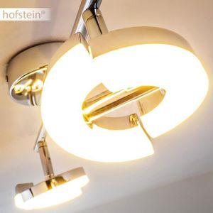 SPOTS - LIGNE DE SPOTS Spot plafond Hofstein Paris Chrome à 2 Spots