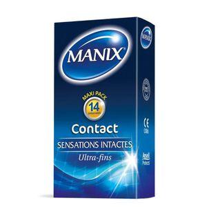 PRÉSERVATIF MANIX Contact Ultra Fin 14 préservatifs