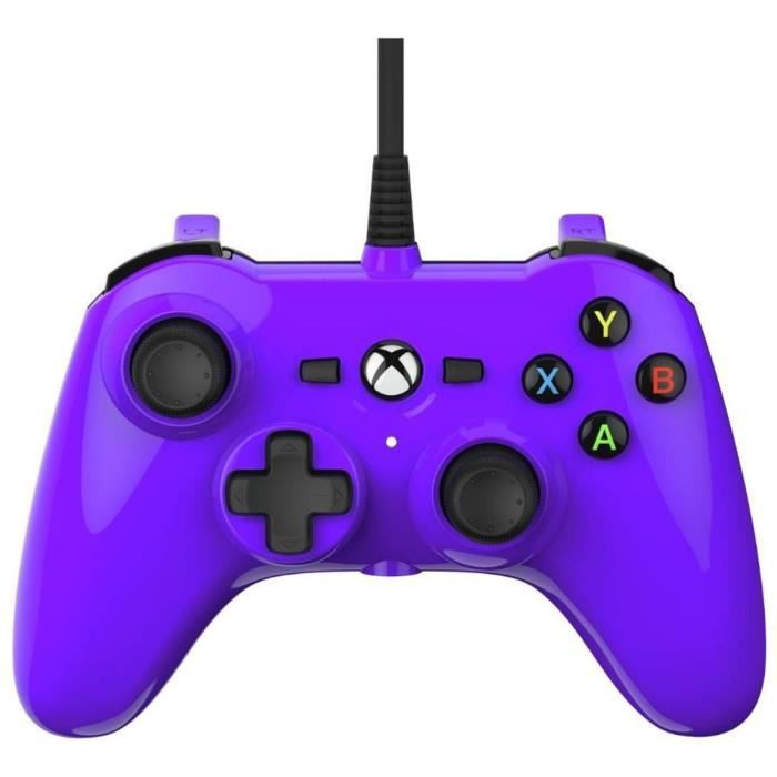 mini manette filaire violet xbox one power aunivers xbox gamingpascher. Black Bedroom Furniture Sets. Home Design Ideas