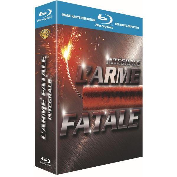 BLU-RAY FILM Coffret BLU-RAY L'Arme Fatale - l'intégrale 4 film