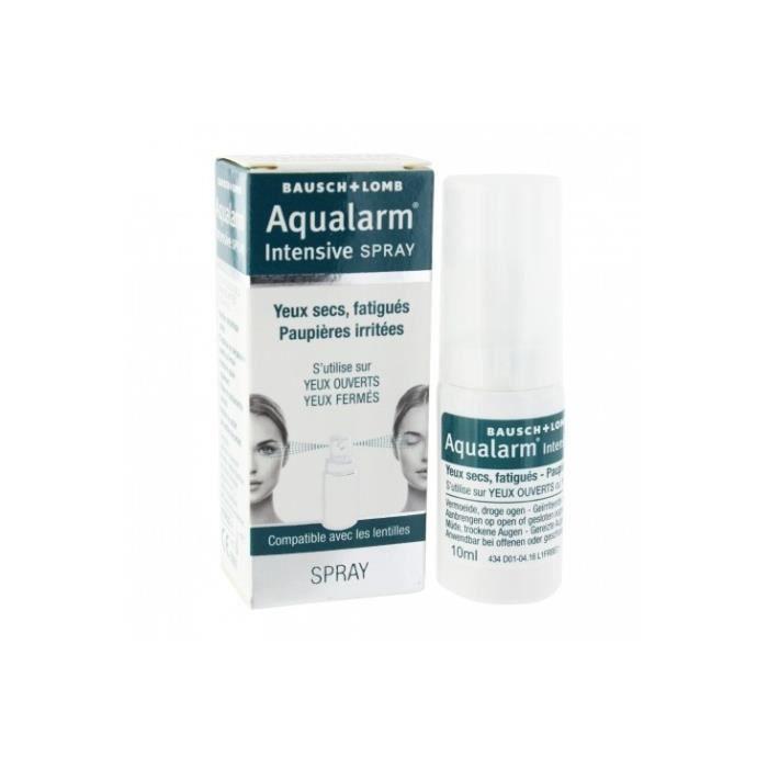 Aqualarm Intensive Spray Yeux Secs Fatigués 10ml