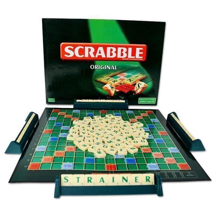 Jeu Société - plateau, Scrabble Classique, Jeu de Société et de Lettres