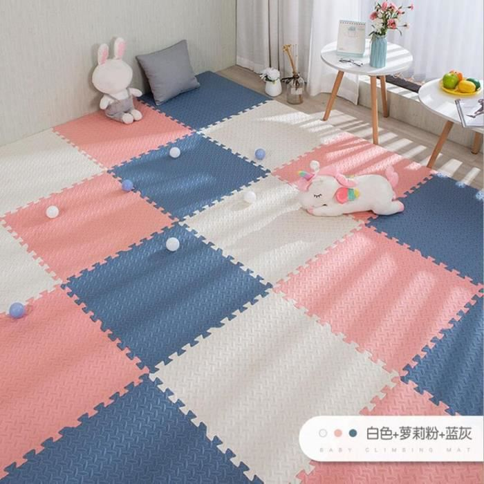 Tapis d'éveil,Bébé mousse griffage tapis EVA Puzzle jouets pour enfants enfants doux plancher tapis de jeu - Type L-12 pieces