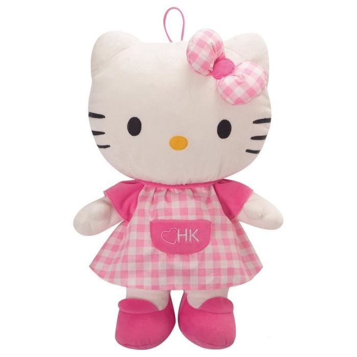 Jemini Hello Kitty peluche range pyjama +/- 40 cm