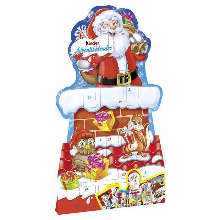 Ferrero Kinder Mix Calendrier de l'Avent 210g