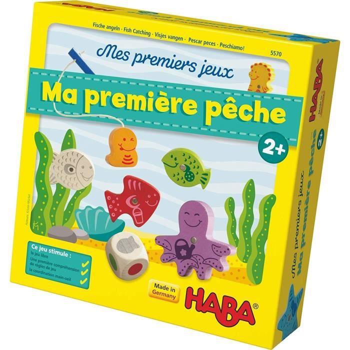 HABA - Mes Premiers Jeux - Ma première pêche - Version Française
