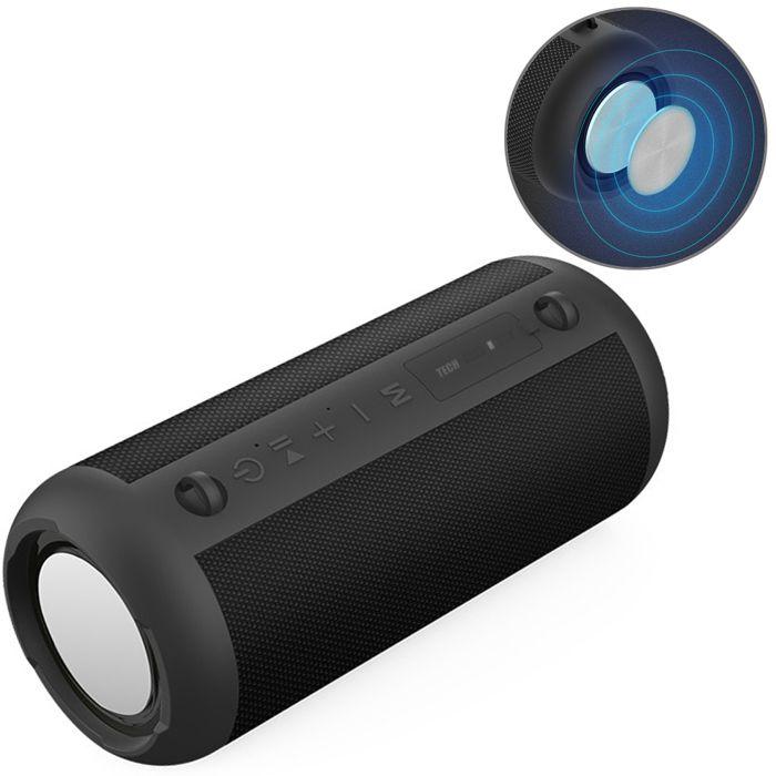 TD® Stéréo de haute qualité NFC FM HIFI Haut-parleur Bluetooth sans fil Bluetooth Haut-parleurs portable Boombox Super Bass Lect