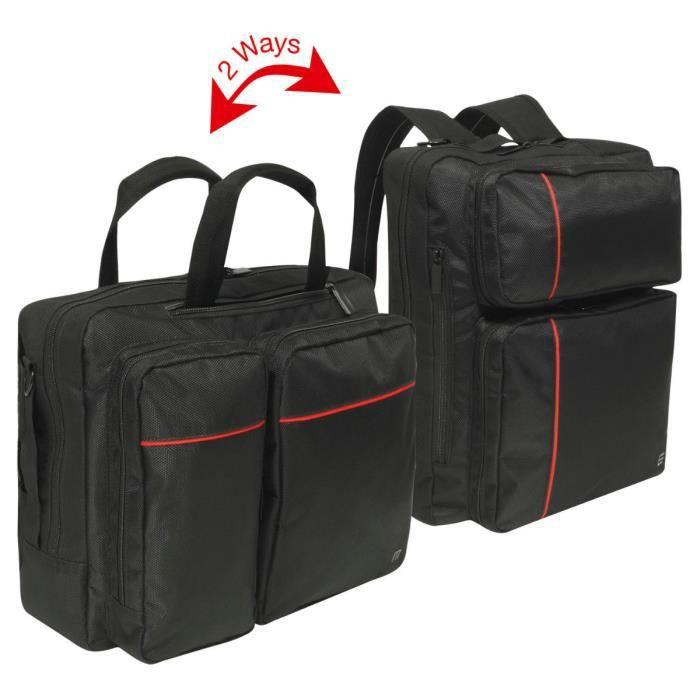 Mobilis Executive 2 Briefcase Two Ways 14 16'' Sacoche pour ordinateur portable 16