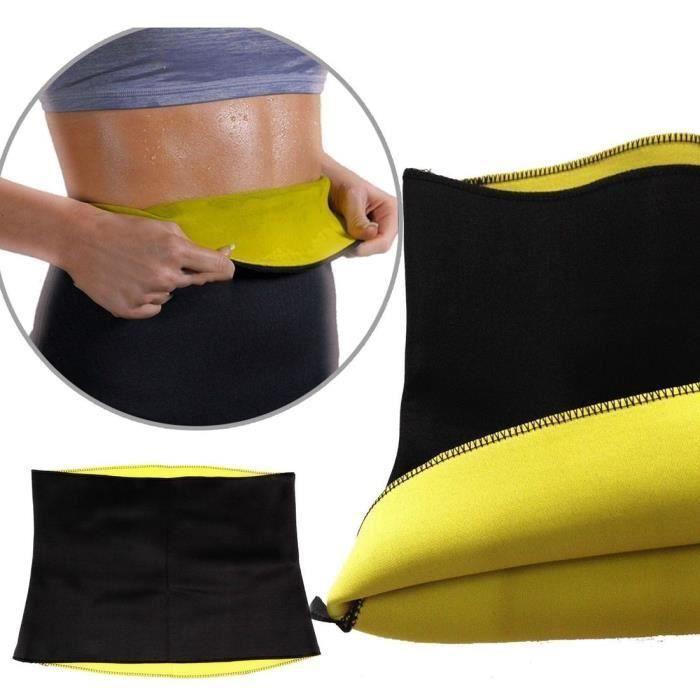 Ceinture shaper belt vêtement de sudation sauna minceur sportif