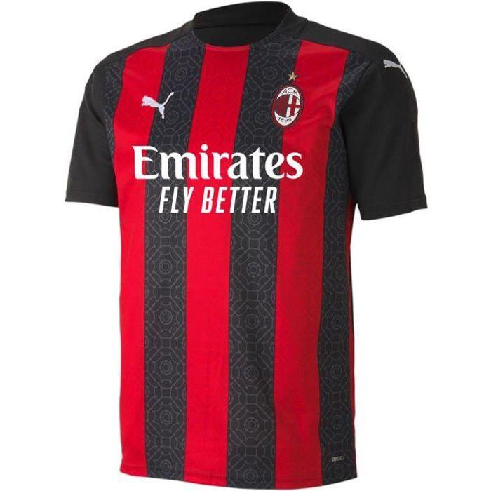 Puma Ac Milan Maillot Domicile Football 2020 2021 Hommes