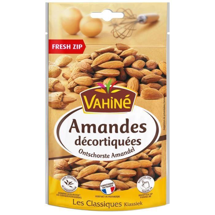 VAHINE Amandes décortiquées - 125 g