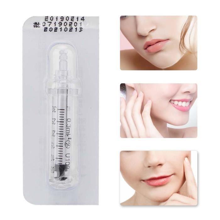 0.3 ml ampoule tête seringue aiguille acide hyaluronique stylo d'injection accessoire TUN18