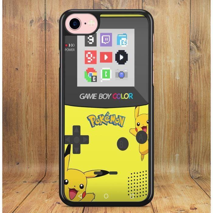 Coque Samsung Galaxy S9 PLUS GameBoy Color Pokemon