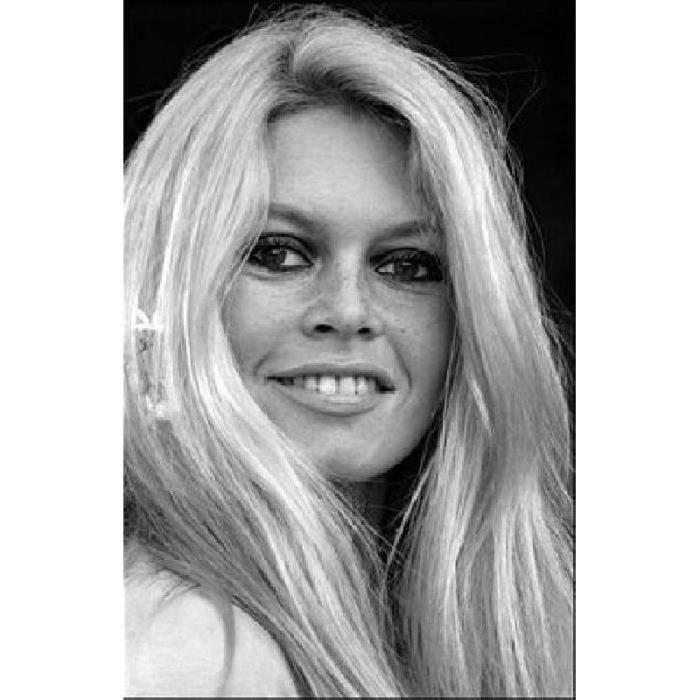 477601 162 Dimensions 21 X 30 Cm Portrait Noir Et Blanc Brigitte Bardot