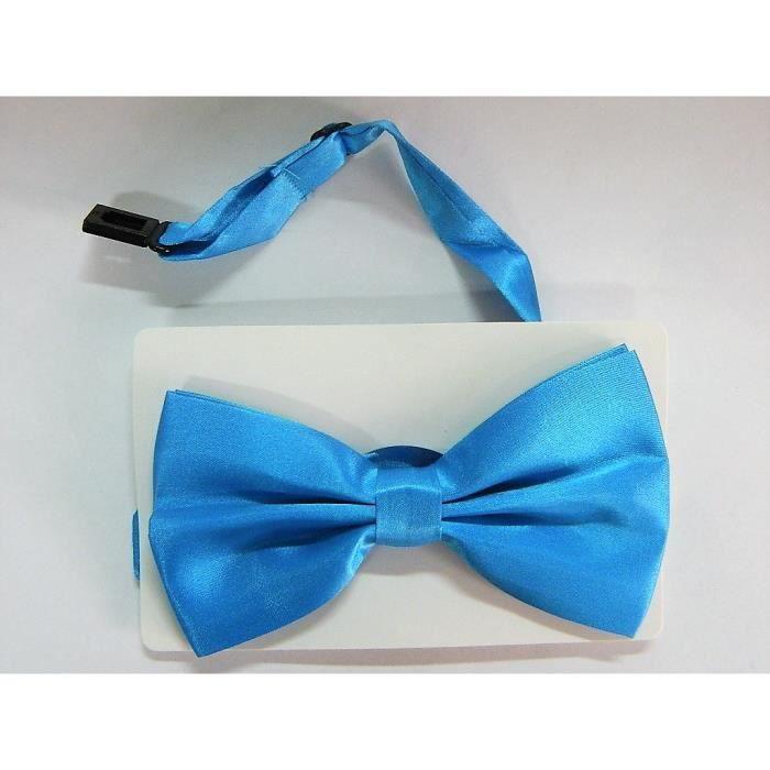 noeud papillon bleu ciel mariage c/ér/émonie homme femme