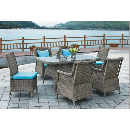 Salon de jardin extérieur design luxe en résine… - Achat ...
