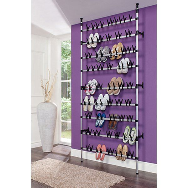meuble rangement chaussures 45 paires gris achat. Black Bedroom Furniture Sets. Home Design Ideas