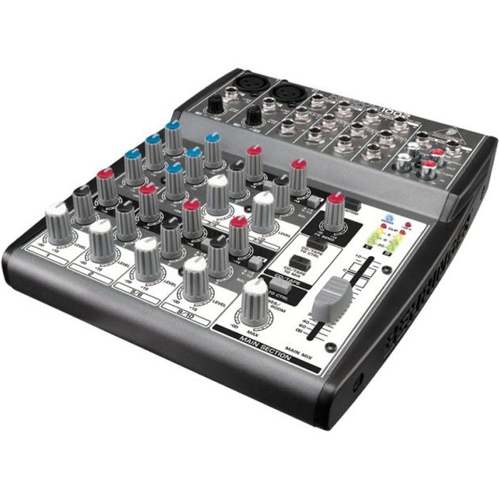 behringer xenyx 1002 table de mixage analogique table de mixage avis et prix pas cher cdiscount. Black Bedroom Furniture Sets. Home Design Ideas