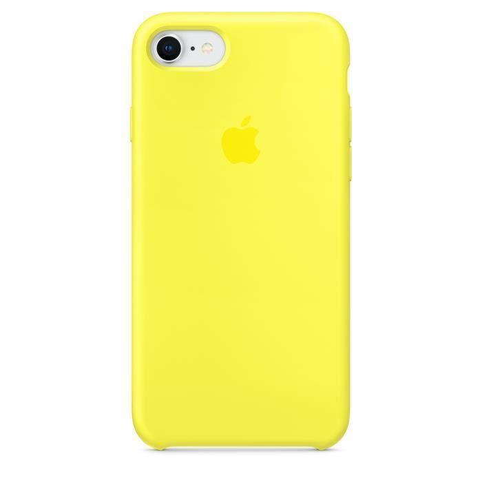 apple coque en silicone iphone 6 6s 4 7 jaune f