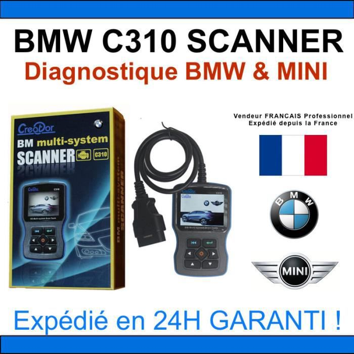 bmw c310 scanner valise diagnostique bmw mini inpa. Black Bedroom Furniture Sets. Home Design Ideas