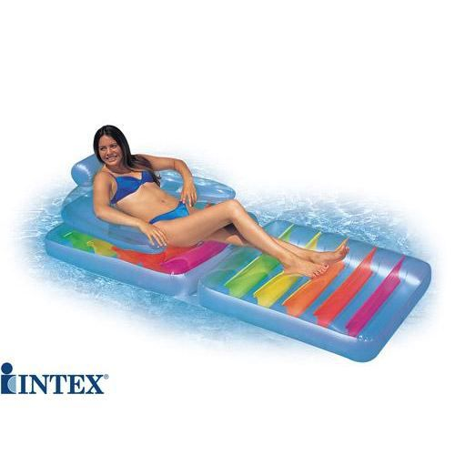 matelas fauteuil de piscine intex achat vente matelas gonflable cdiscount. Black Bedroom Furniture Sets. Home Design Ideas