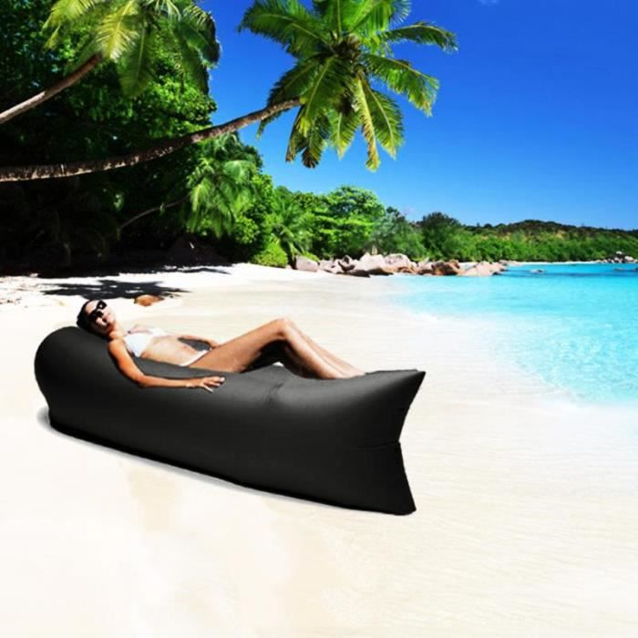 Beanbag outdoor bed souple polyester mat riau ext rieur for Piscine coque polyester soldes
