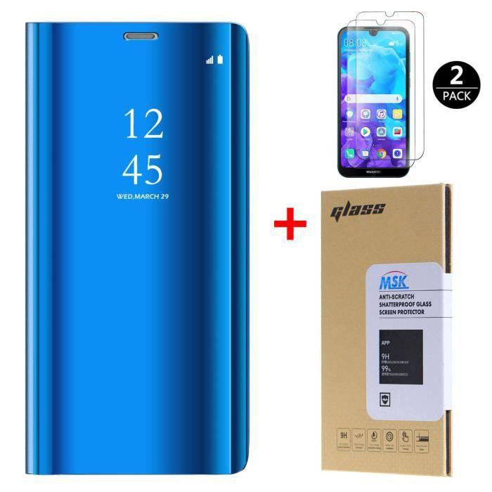 Coque Huawei Y5 2019 et [2 Pack] Verre trempé, Mir