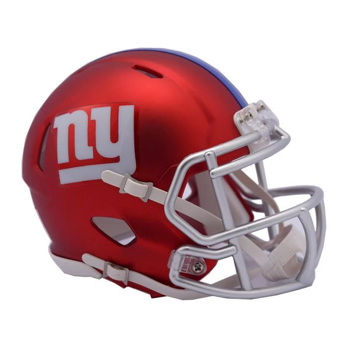 Riddell Mini Football Casque - NFL BLAZE New York Giants