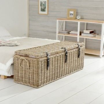 coffre malle de rangement chambre kubu fibres v achat vente coffre kubu 150 cdiscount. Black Bedroom Furniture Sets. Home Design Ideas