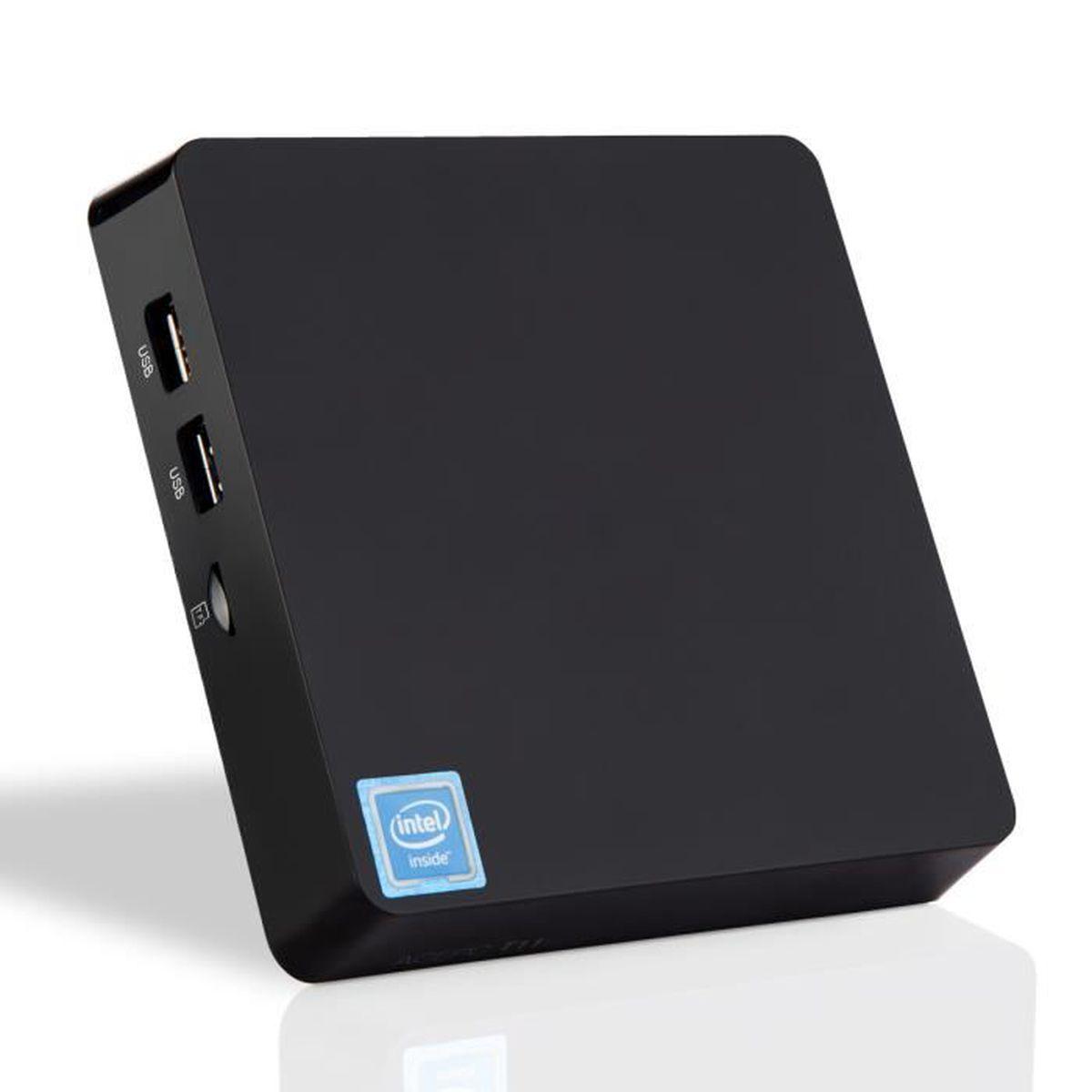 UNITÉ CENTRALE  T11 Licence Windows 10 Mini PC Ordinateur 4 Go + 3