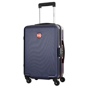 BAGSTONE Valise Cabine Rigide Goldy - 4 Roues - Marine