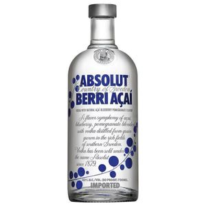 VODKA Vodka - Absolut - Absolut Berri Açai