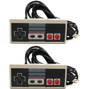 MANETTE JEUX VIDÉO lot de 2 manettes Nintendo NES à branchement USB p