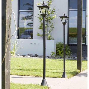 Eclairage d\'exterieur Luxform Lampe LED solaire de jardin a ...