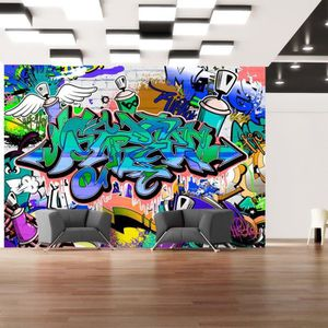 papier peint graffiti achat vente papier peint. Black Bedroom Furniture Sets. Home Design Ideas
