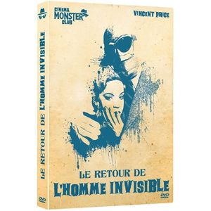 DVD FILM Le Retour de l'homme invisible