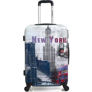 VALISE - BAGAGE AMERICAN TRAVEL – VALISE CABINE | ABS/PC – 55cm –