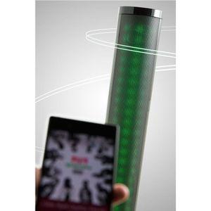 ENCEINTE NOMADE Tour d'enceinte Bluetooth DYNABASS avec jeu de lum
