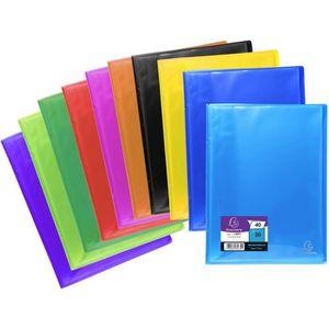 POCHETTE PLASTIQUE EXACOMPTA - Protège documents soudé - 21 x 29,7 -
