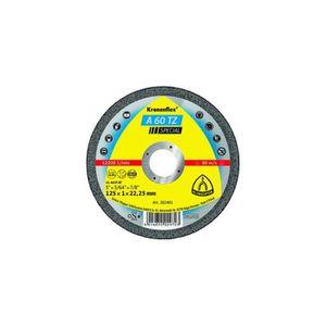 DISQUE DE DÉCOUPE 25 disques à tronçonner MP SPECIAL A 60 TZ D. 125