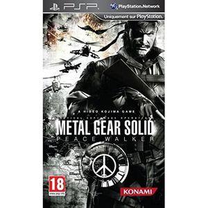 JEU PSP Metal Gear Solid : Peace Walker.