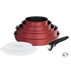Tefal ingenio set 8 pi ces tous feux dont induction - Batterie cuisine tefal ingenio induction ...