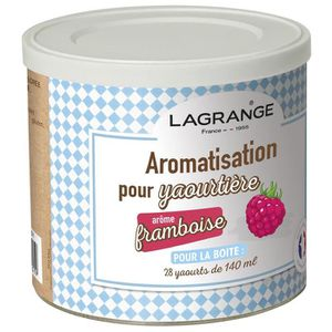 YAOURTIÈRE - FROMAGÈRE LAGRANGE Aromatison framboise pour yaourts